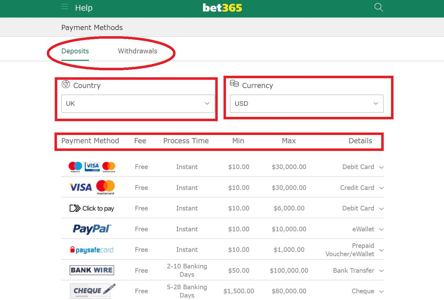 Installing bet365 download iOS application