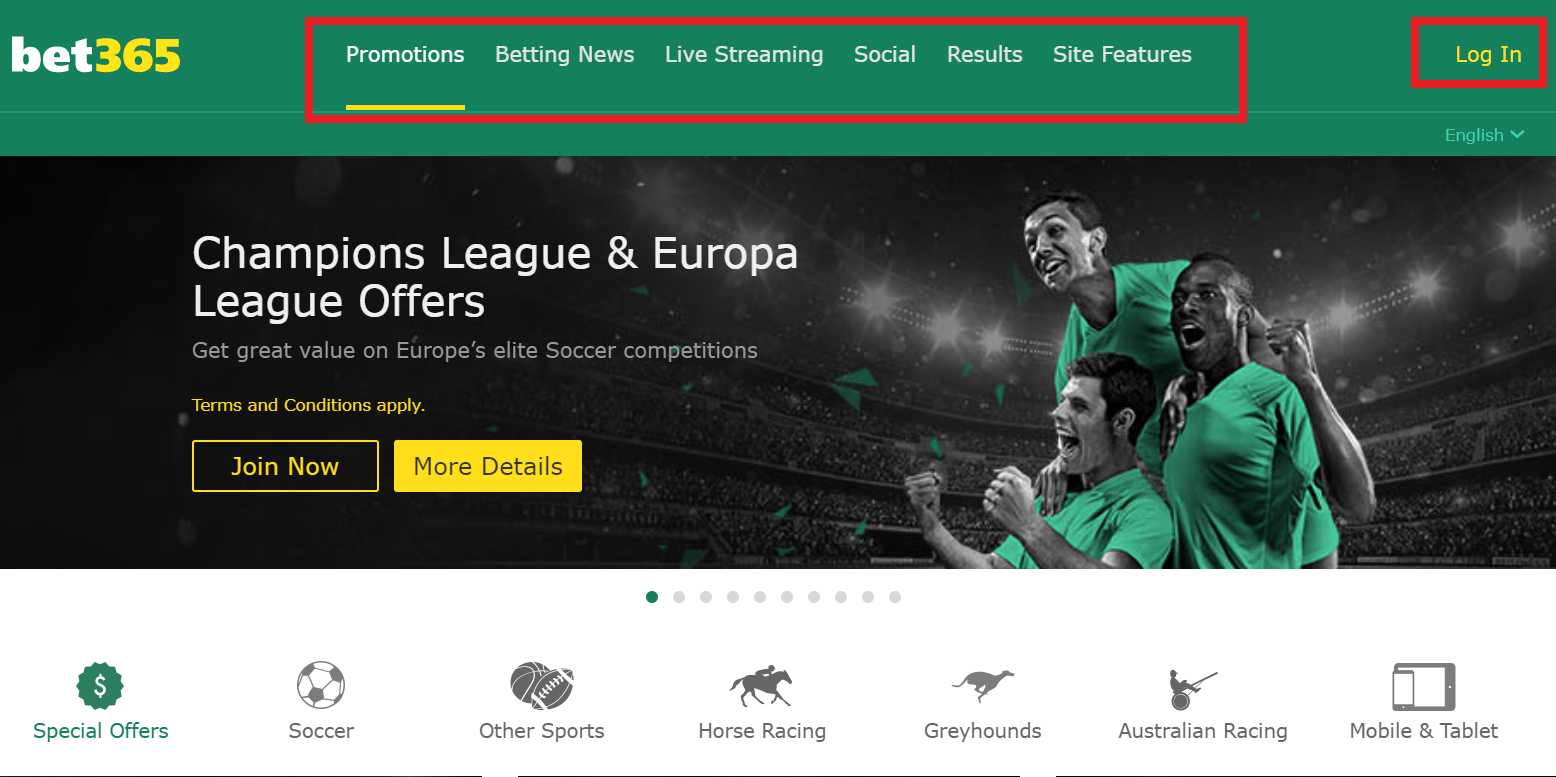 Register an account and receive a unique Bet365 sign up offer